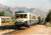 X 4912 in Montdauphin-Guillestre am 06.08.87 mit 6520 Briancon-Marseille